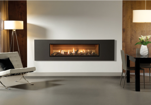 Studio Steel 2 Gas Fires