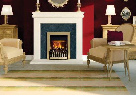 Danville Brass Optimyst Electric Fire