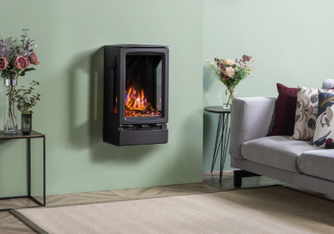 Vogue Midi T Electric Wall Mounted Stove