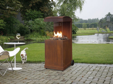 Faber BUZZ Corten Steel Gas Fire