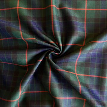 Multi Stripe Tartan - Super Cheap Fabrics