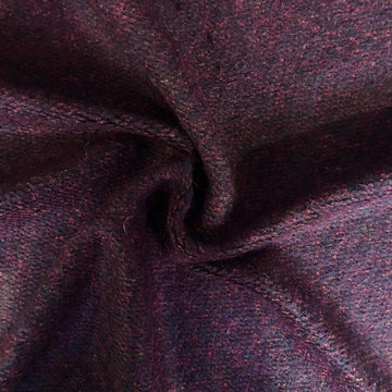 Wool Blend - Burgundy Loop