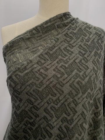 Wool Knit - Charcoal