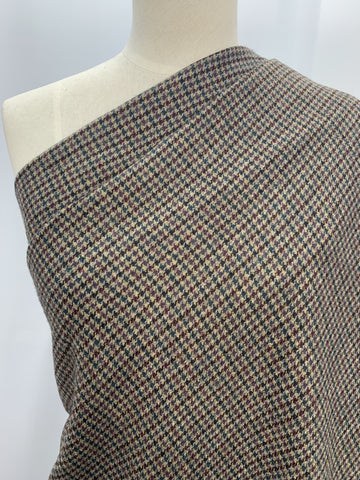 Wool Blend - Autumn Houndstooth