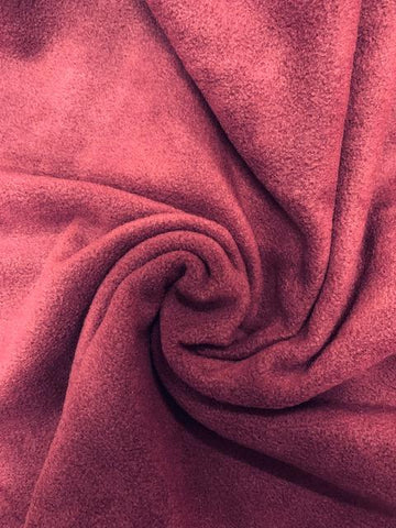 Polar Fleece - Burgundy
