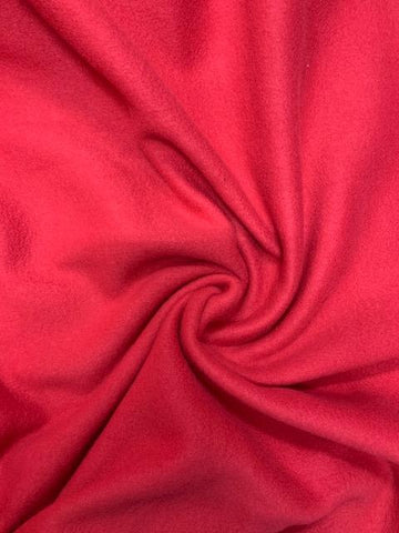 Polar Fleece - Red