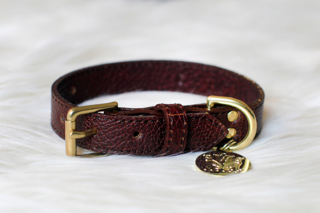Tribeca Collar - Chocolate Brown