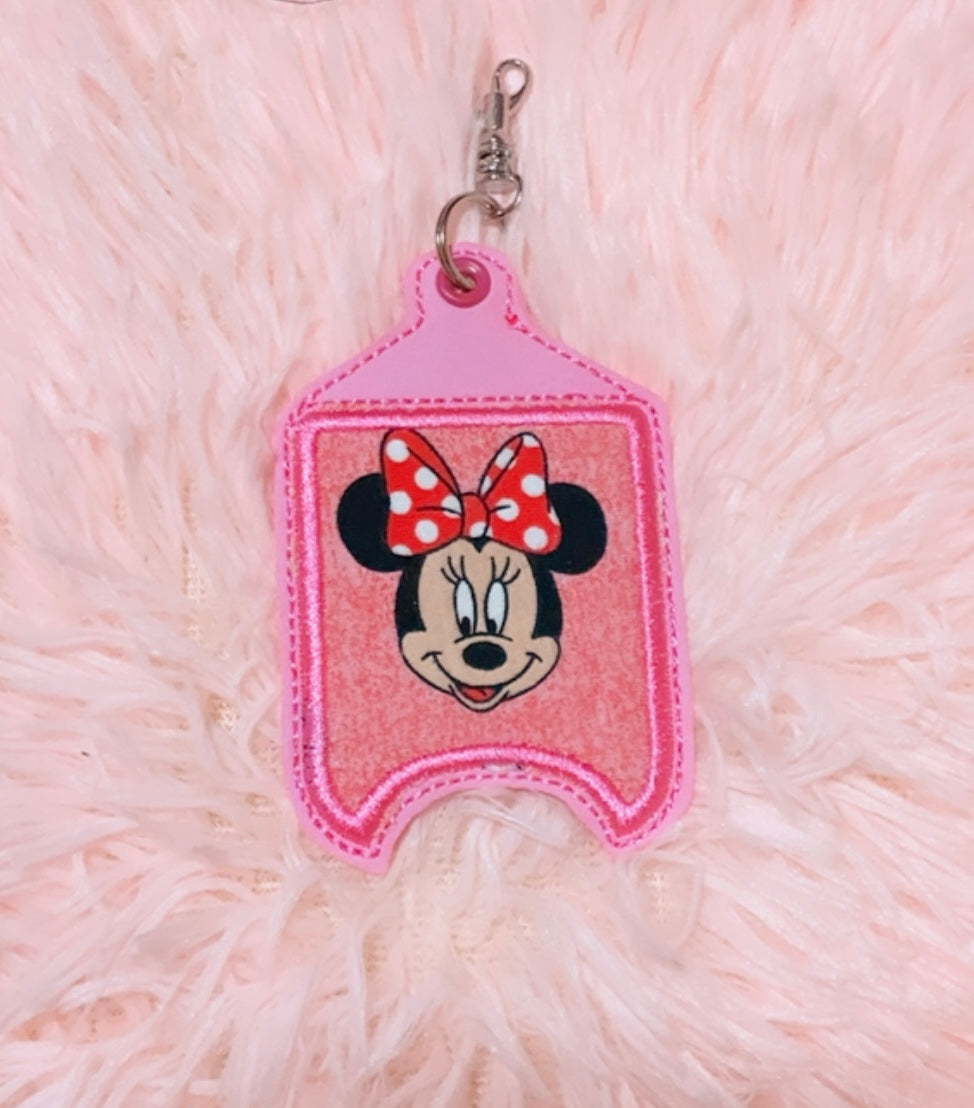 Minnie Mouse Hand Sanitizer Holder