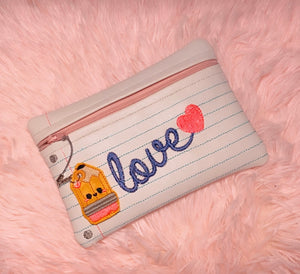 Paper Love Pouch