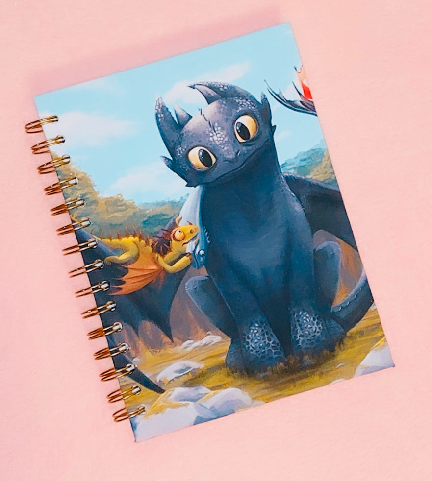 Notebook Toothless The Dragon