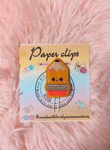Kawaii Pencil Paper Clip