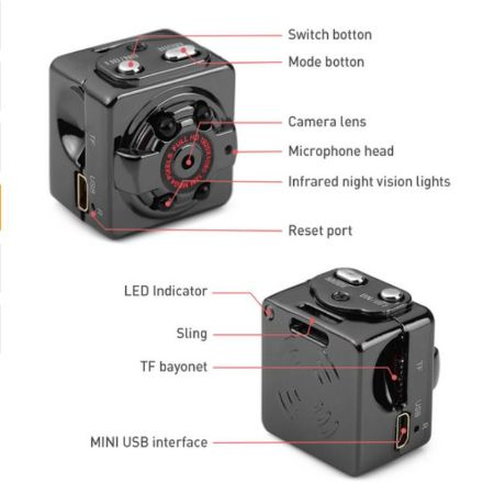 SQ8 Mini Spy Camera