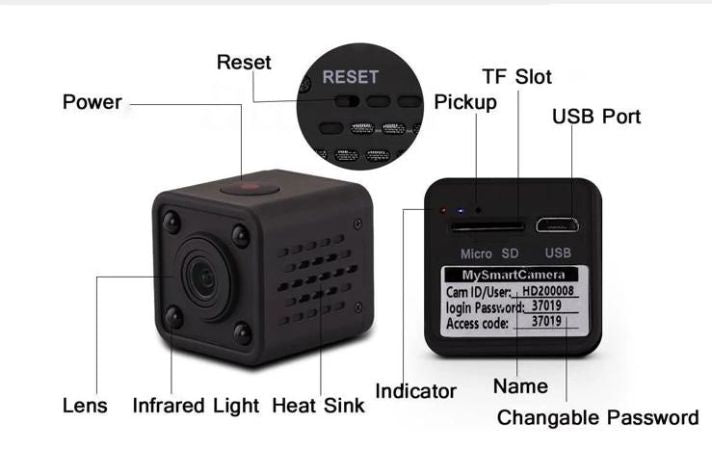 Wifi Mini Spy Camera
