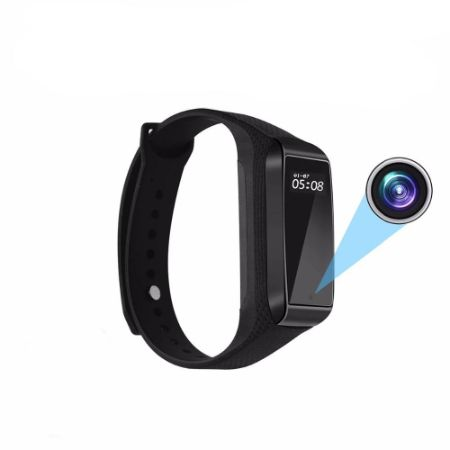 Hidden Camera Fitness Tracker Bracelet