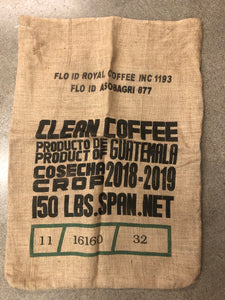Guatemala Bird Friendly® Burlap Coffee Bag