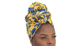 Ewa Satin-lined Headwrap