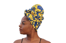 Load image into Gallery viewer, Ewa Satin-lined Headwrap