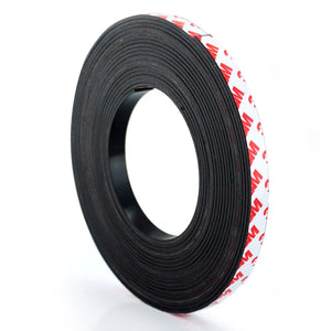 Magnetic Adhesive Tape Roll, Multiple Sizes