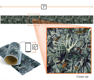 "Camouflage Self-Adhesive Vinyl, 6"" x 7' Roll"