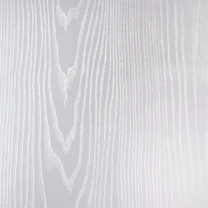 "White and Silver Wood Grain Adhesive Vinyl, 16"" x 89' Roll"