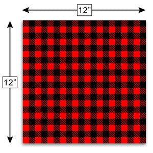 Buffalo Plaid Craft Vinyl