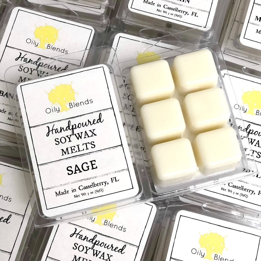 3 oz Soy Wax Melts - Feather & Quill Boutique