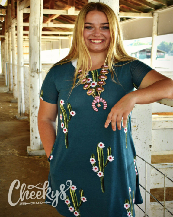 Cactus Tunic with pockets