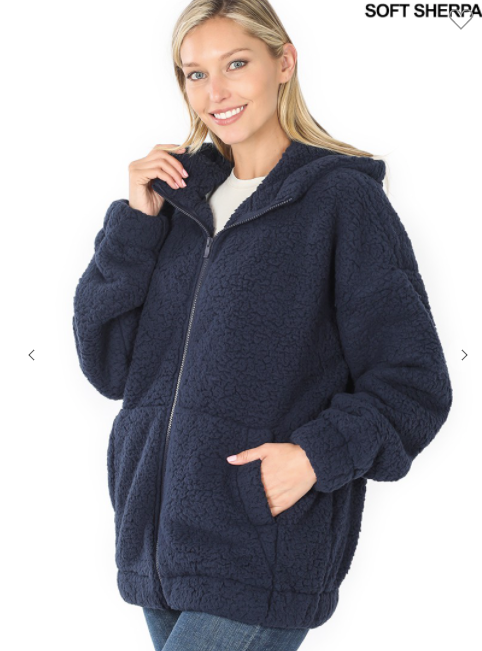 Sherpa Jacket with hood