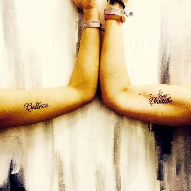 Believe Manifestation Tattoo - 2 Pack - Feather & Quill Boutique