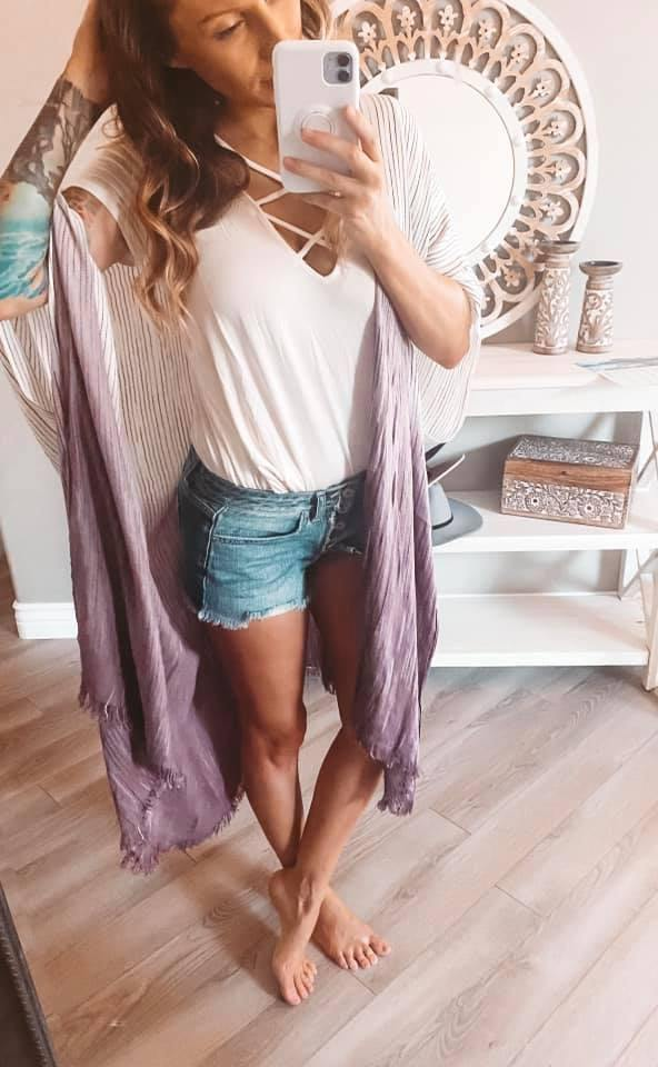 Boho Ombre Kimonos - 4 colors - Feather & Quill Boutique