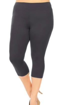 Capri Leggings - Multiple colors-Feather & Quill Boutique