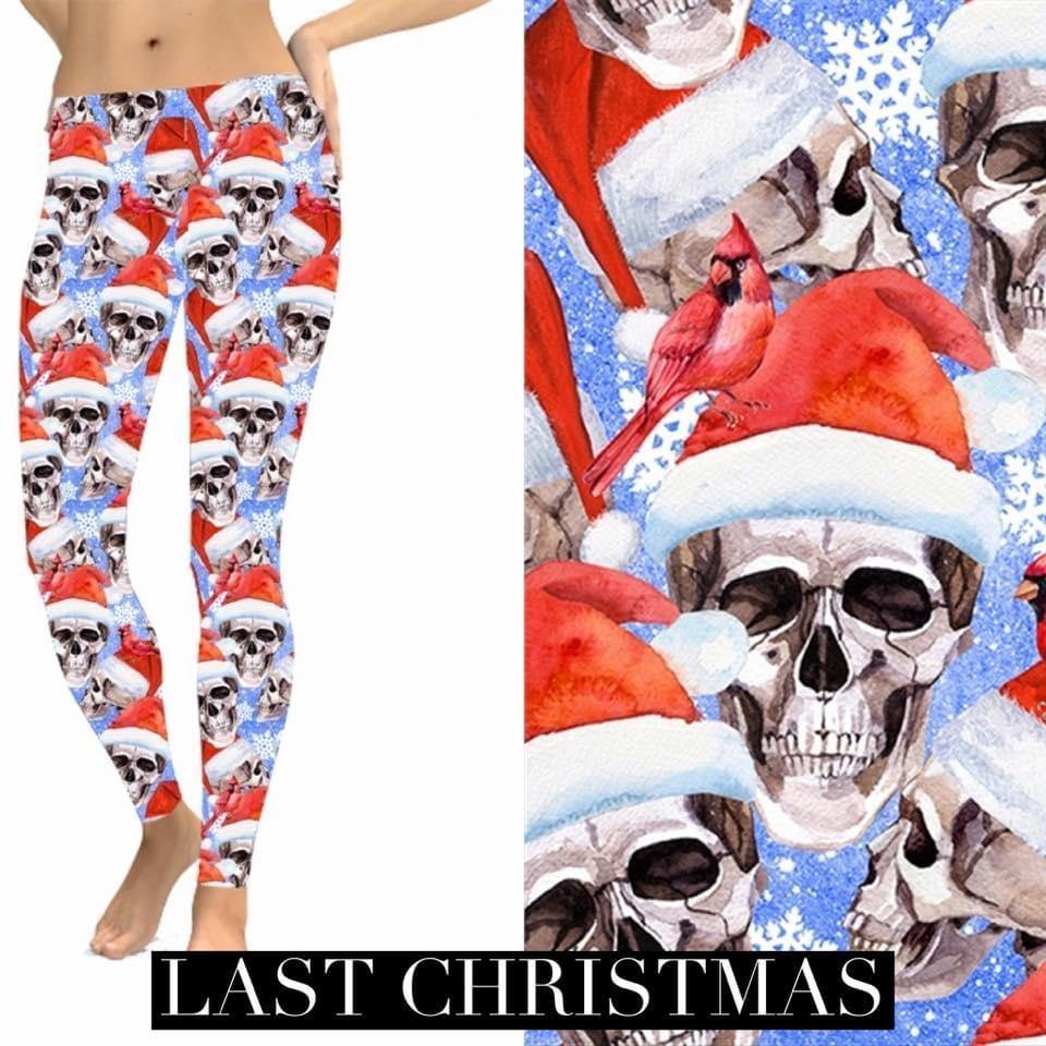 Christmas Leggings - Last Christmas - Feather & Quill Boutique