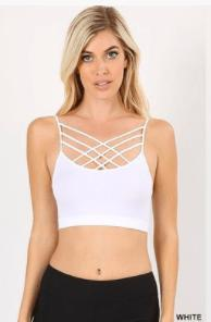 Criss Cross Bralette - Feather & Quill Boutique