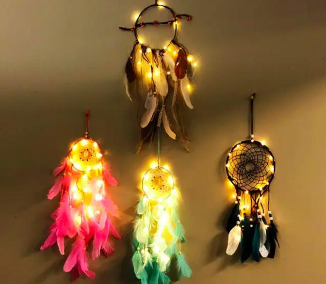 Dream Catcher Night Light-Feather & Quill Boutique