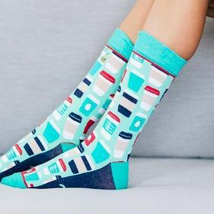 Espresso Yourself Socks-Feather & Quill Boutique