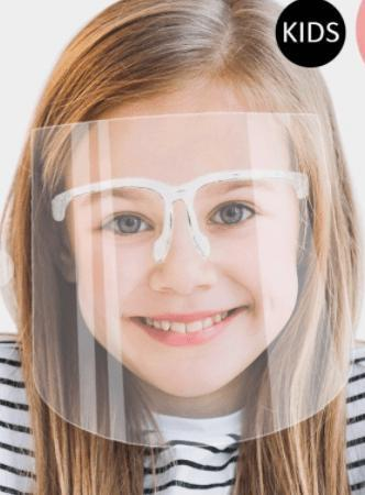 Face Shield Adults & Kids - Feather & Quill Boutique