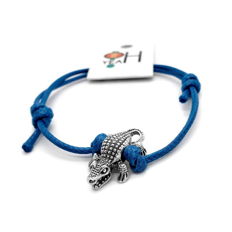Gator Bracelet - Solo Florida Bracelet - Beach Jewelry - Feather & Quill Boutique