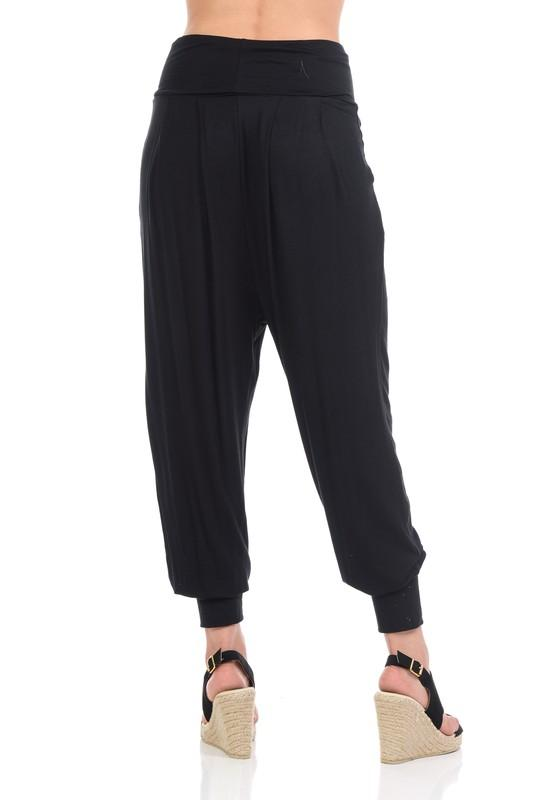 Harem Pants with Cuff - Feather & Quill Boutique