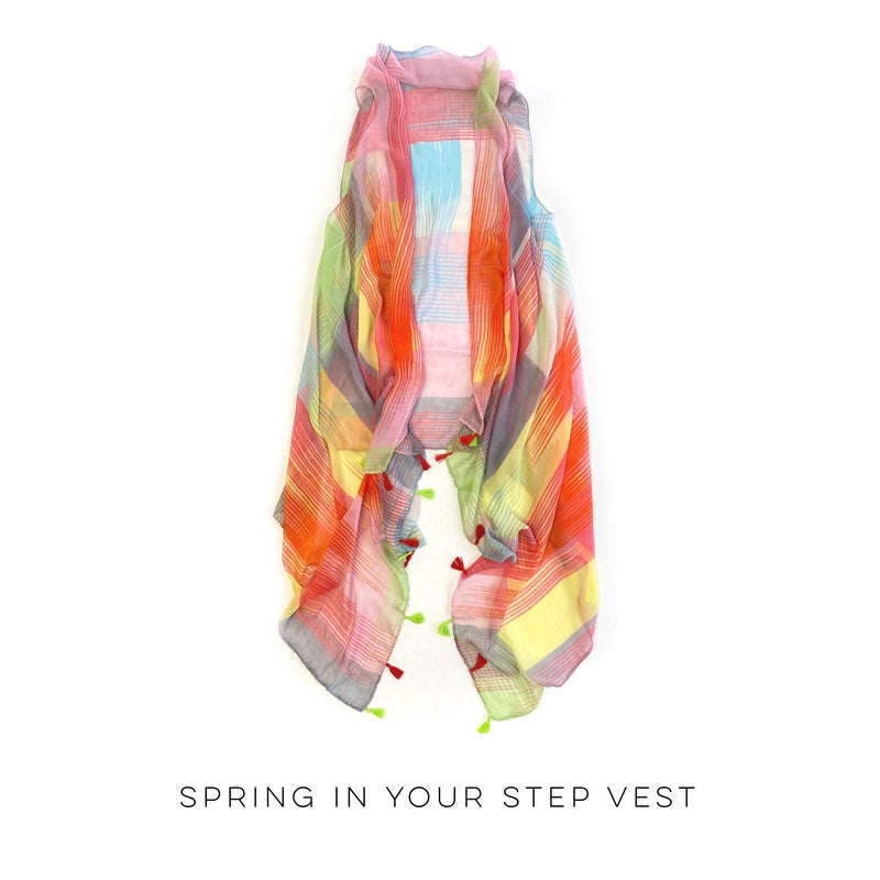 Spring in Your Step Vest