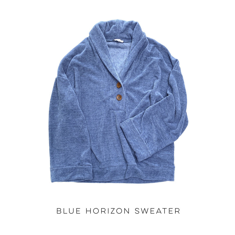 Blue Horizon Sweater