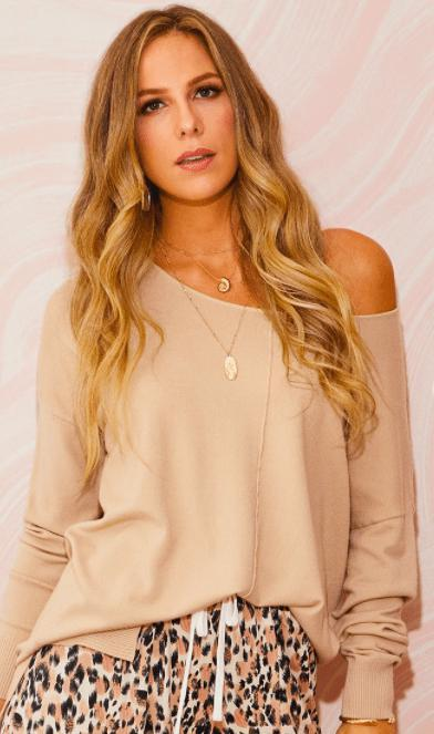 Loose fit Sweater Tunic - Feather & Quill Boutique