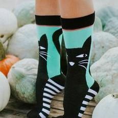 Sneaky Kitty Socks-Feather & Quill Boutique