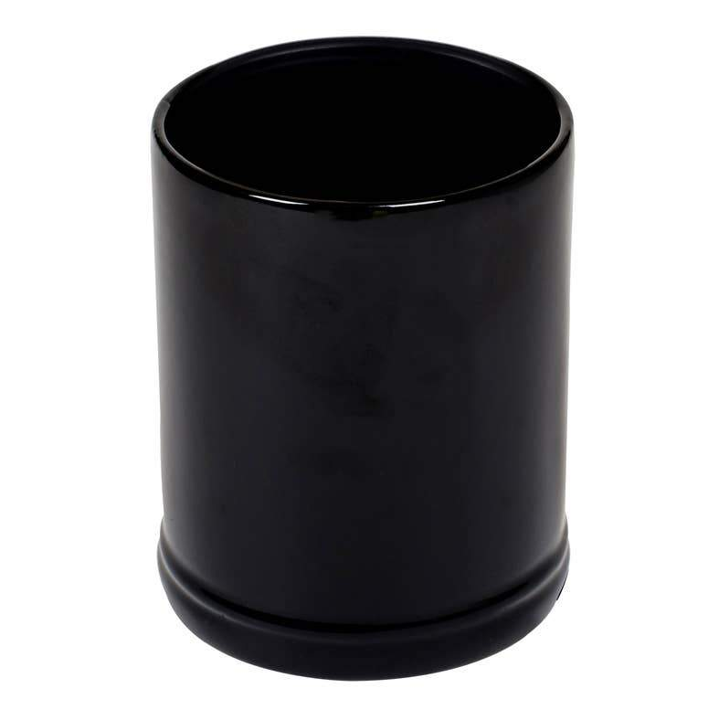Solid Black Candle Warmer - Feather & Quill Boutique