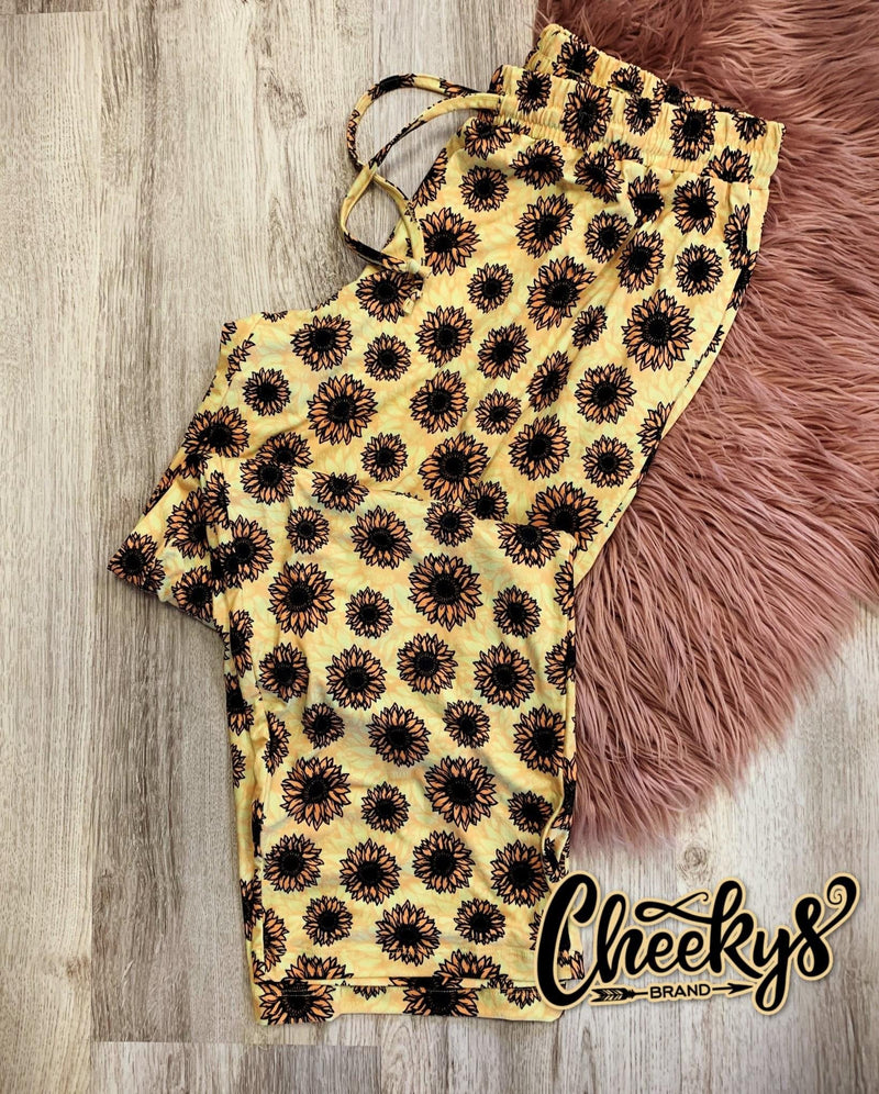 Sunflower Joggers-Feather & Quill Boutique
