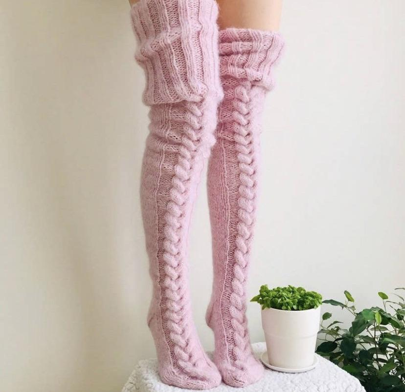 Tall socks-Feather & Quill Boutique