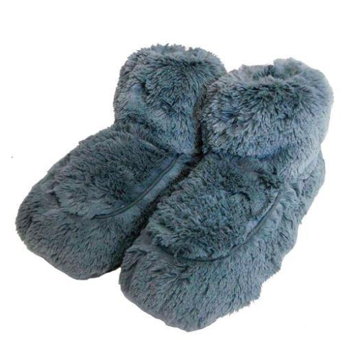 Warmies® Plush Body Fur Slippers-Feather & Quill Boutique