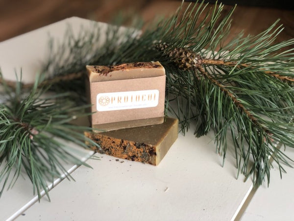 CHRISTMAS WINTERY FOREST SOAP