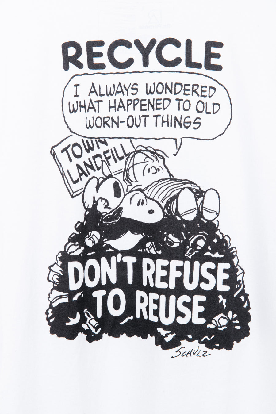 Peanuts Recycled SS Tee