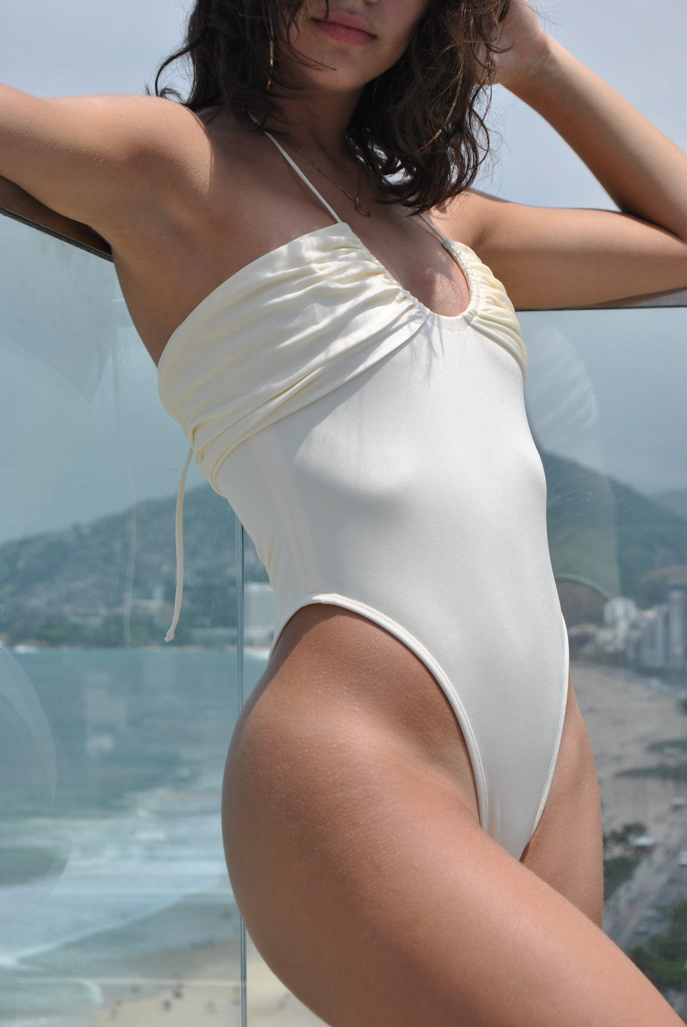 Mademoiselle Swimsuit Cream