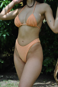 Orange creamsicle bikini top